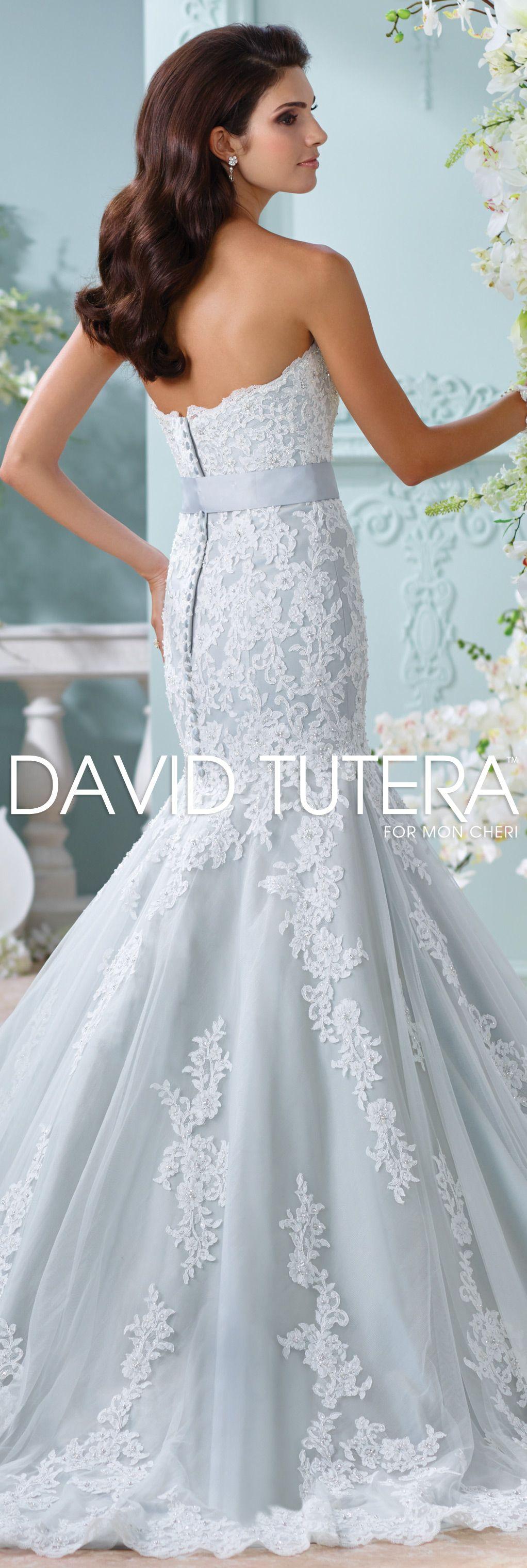 The David Tutera for Mon Cheri Spring 2016 Wedding Gown Collection ...