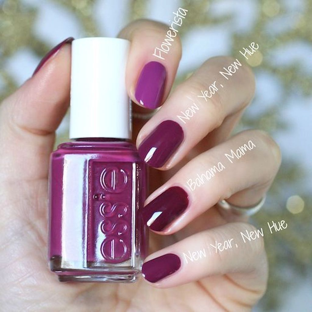 45 Charming Winter Nail Design And Color Ideas