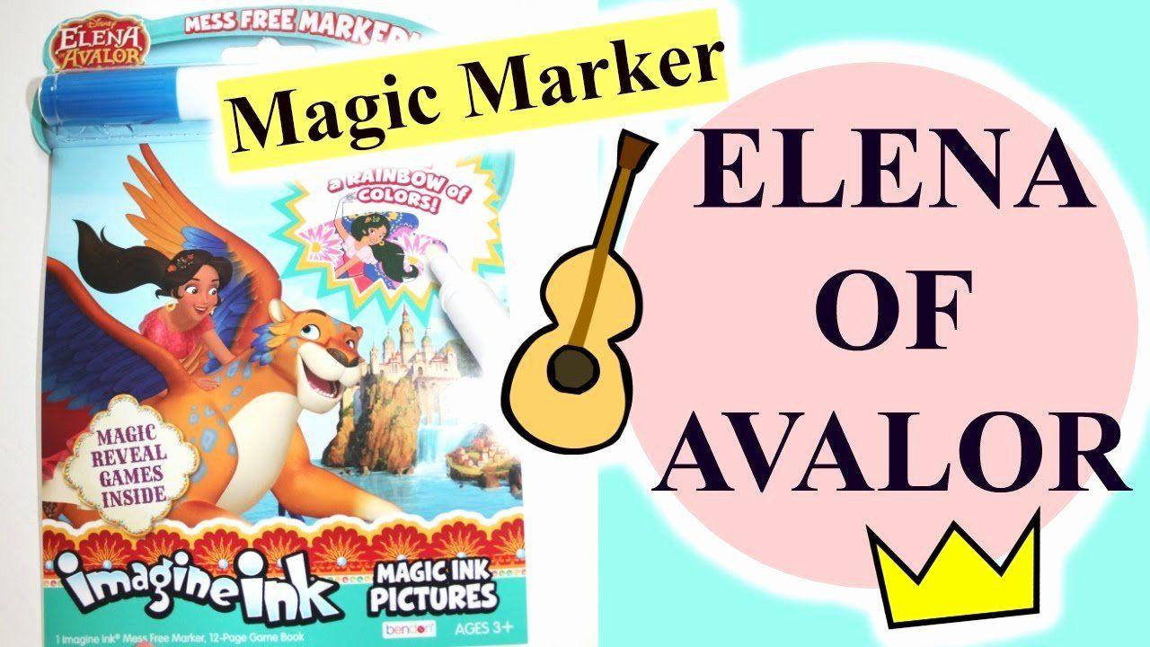 Magic Marker Coloring Book Elegant Elena Of Avalor Imagine Ink