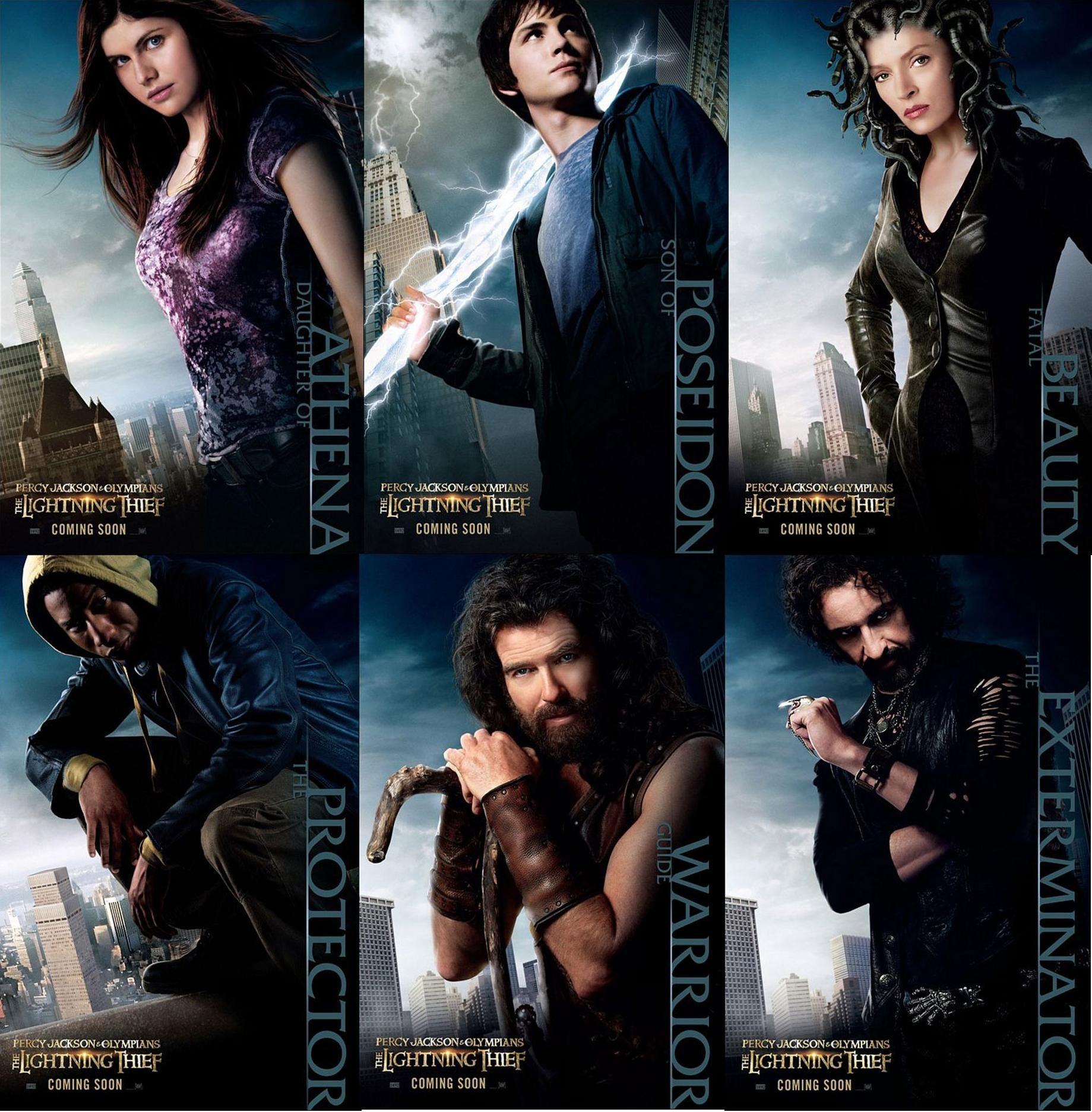 percy jackson and the olympians full movie