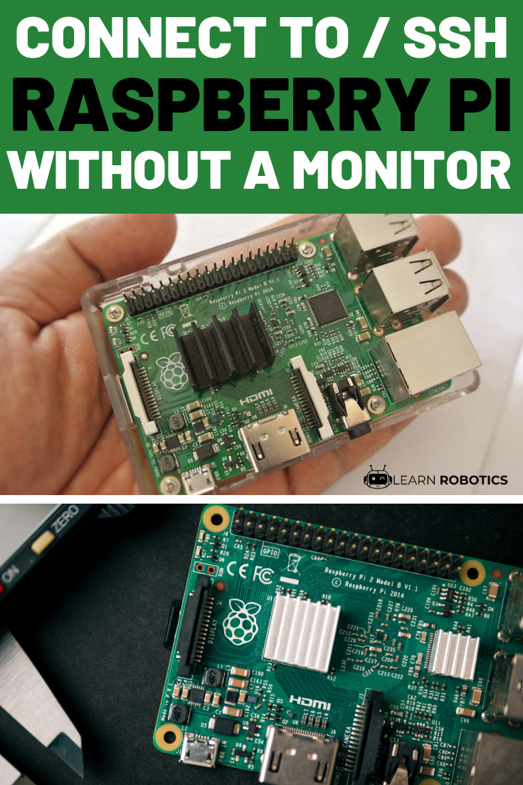 Connect to Raspberry Pi without a Monitor | Programming