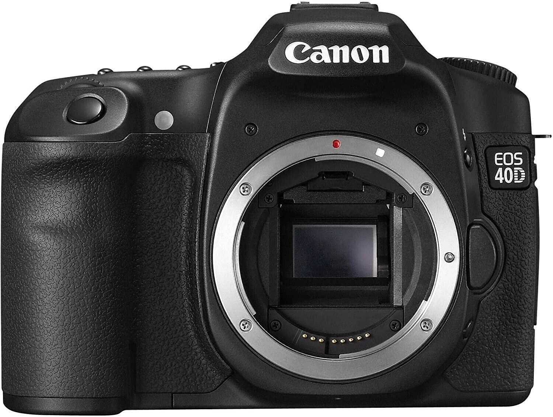 Canon Eos 40d Slr Digitalkamera 10 Megapixel Live View Gehause In 2020 Kamera Digital Canon Eos Eos