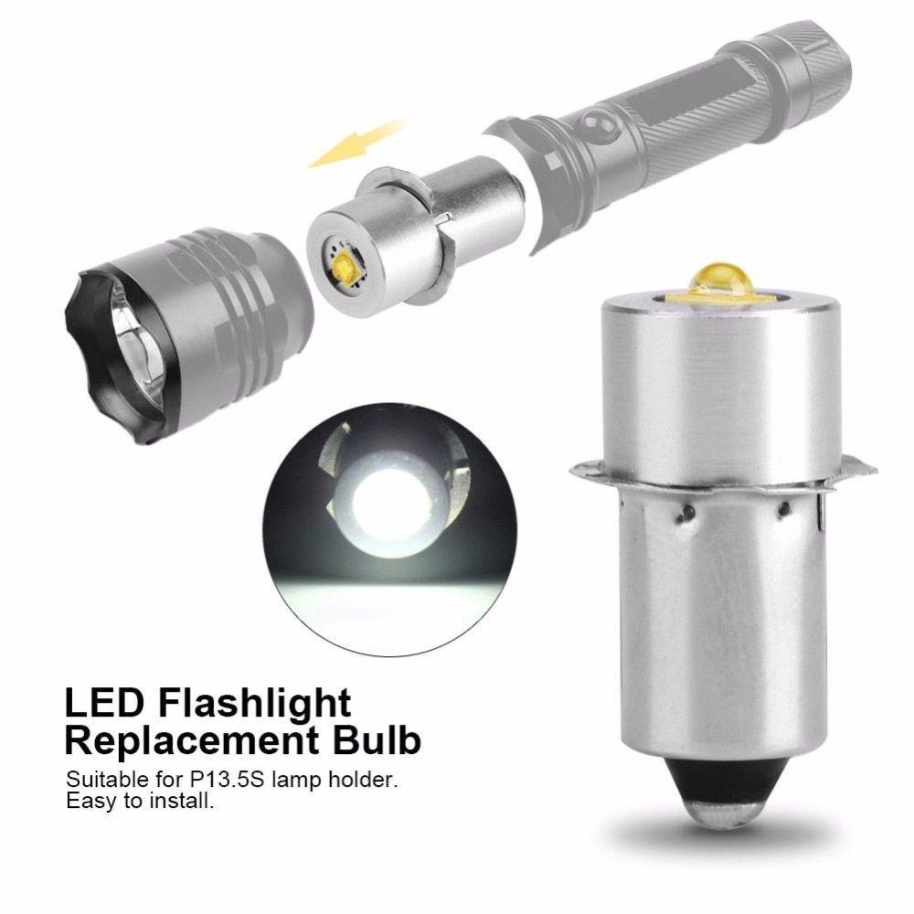 LED Upgrade Bulb For D+C cell flashlights P13.5S CREE XPG2