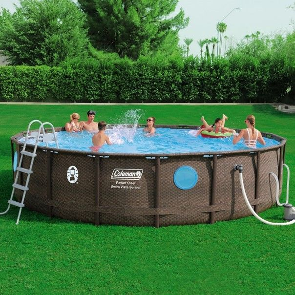 Turn Summer Fun Up A Notch With The Coleman Swim Vista 18 Above