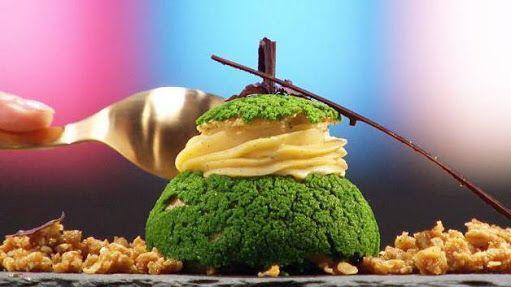 Rachel Khoo Apple Crumble Cake