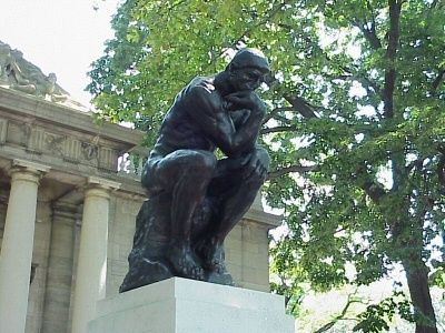 Image result for thinker sculpture philadelphia