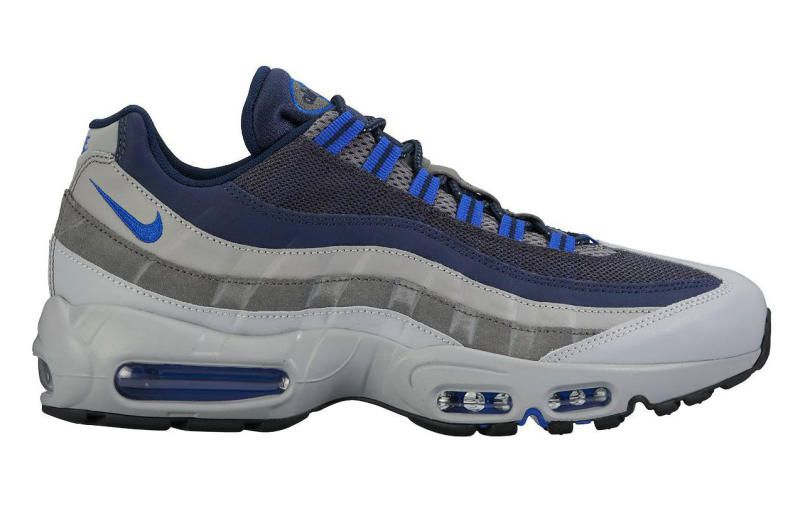 Nike Air Max 95 Black Anthracite Lyon Blue