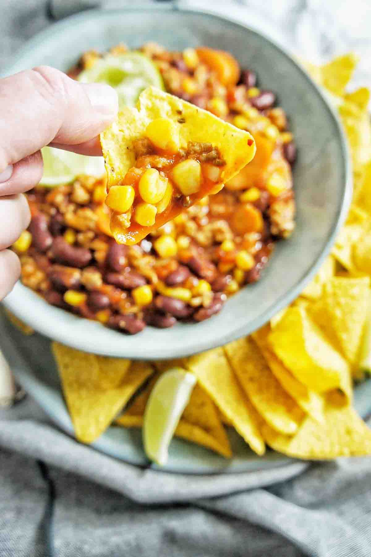 Turkey Chilli Con Carne is a healthy version of a ...