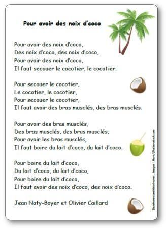 la chanson coco