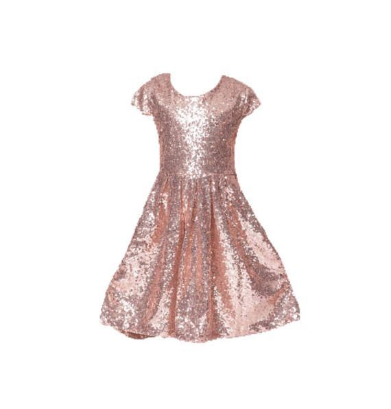 SIZE CHARTS Dress Size Chart - Junior Bridesmaid Dresses Rose Gold