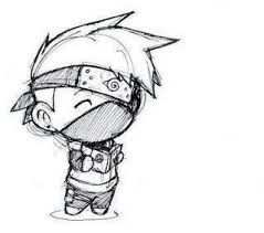 Image Result For Kakashi Sketch Easy With Images Easy Manga