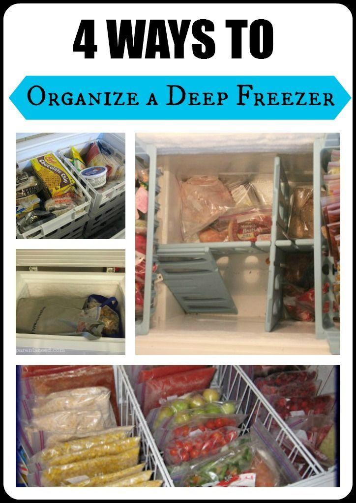 4 Ways To Organize Your Deep Freezer Stuff Parents Need