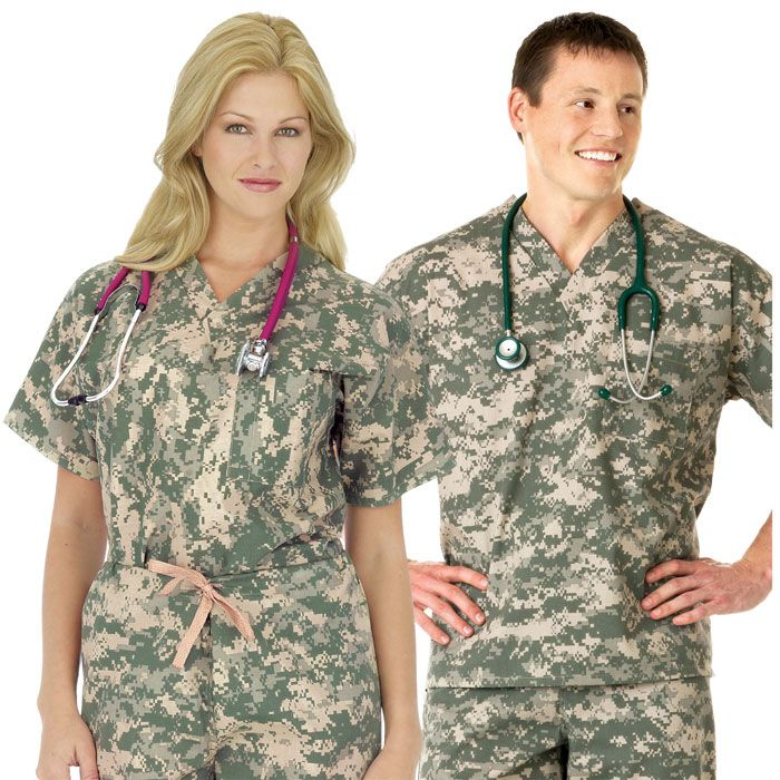 87cf43f4848 Camouflage Scrubs-- OH MY... I need these obviously. | Nurse Swag ...