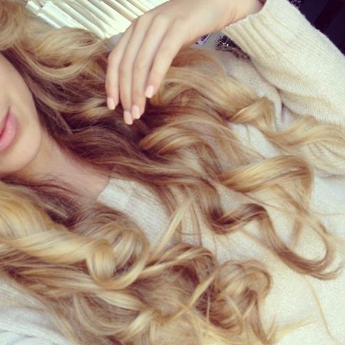 blonde, curly hair, hair, long hair