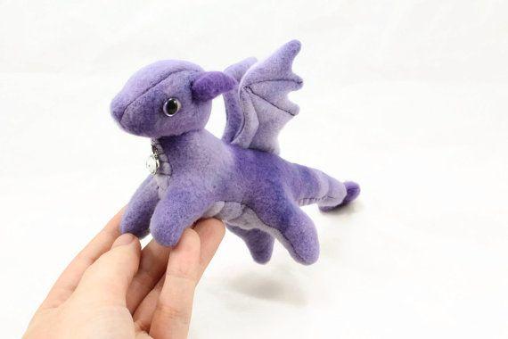 Tiny Dragon Stuffed Animal Sewing Pattern, Small Dragon, Plush Toy ...