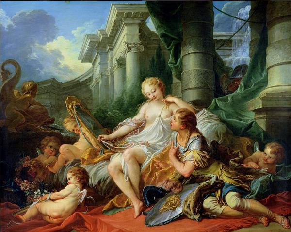 Rinaldo and Armida. François Boucher, 1734