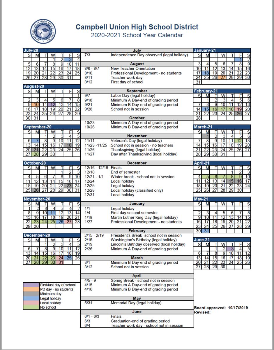 Ksu Academic Calendar Spring 2022.Gilroy Unified School District Calendar 2021 Academic Calendar Calendar Board Calendar Program