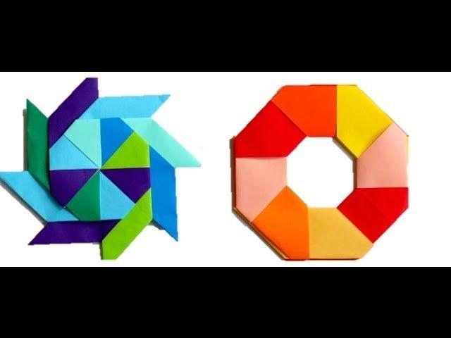 How To Make Paper Ninja Star Ninja Star Origami And Papercraft
