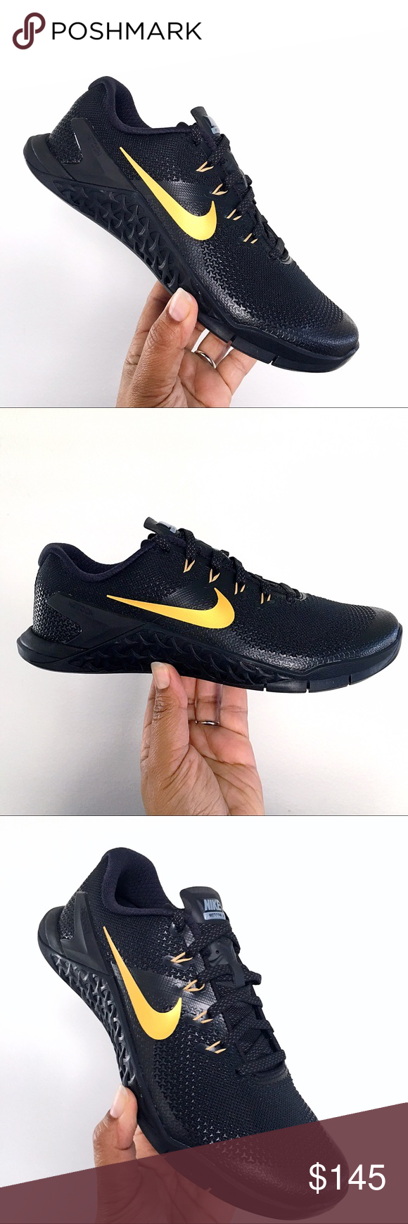 Nike iD Metcon 4 XD Black and Gold