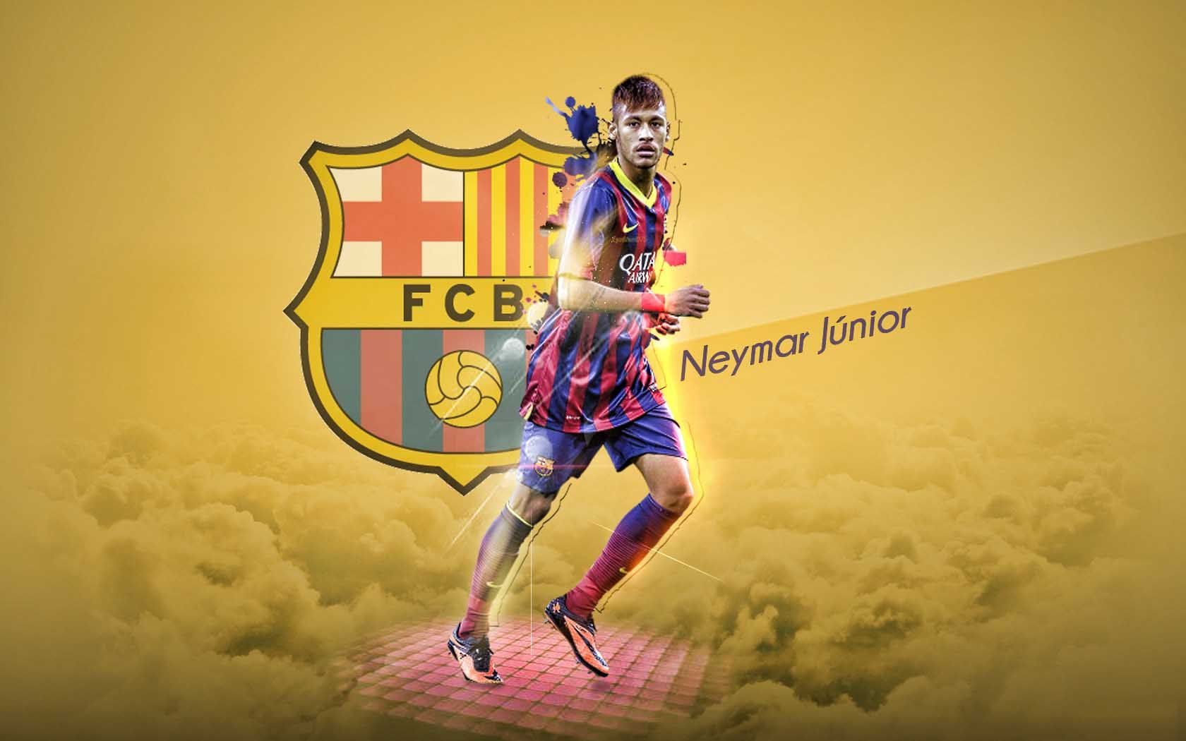 Sport Neymar Moving Images Wallpaper 1680x1050 Cool Pc Wallpapers Neymar Neymar Jr Neymar Barcelona