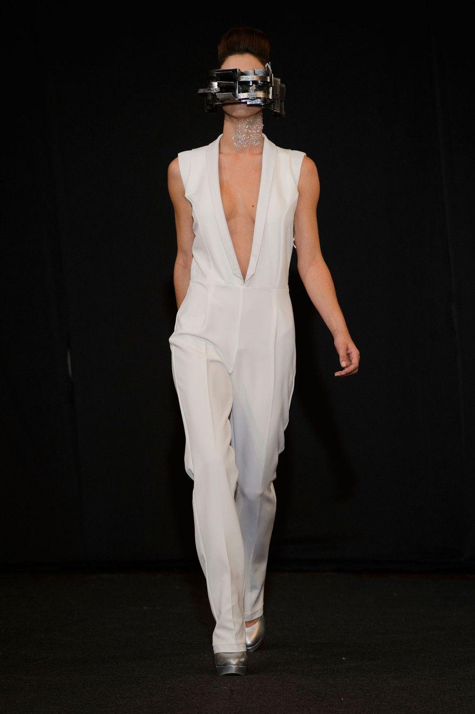 Maison Anoufa at Couture Spring 2015 - StyleBistro