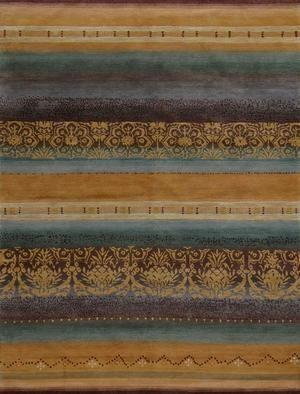 Tibet Rug Company 100 Knot Premium Tibetan Arabesque Gold Area Rug In 2020 Tibetan Rugs Rug Company Rugs