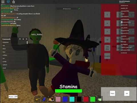 Roblox Baldi S Basics 3d Rp The New Halloween Morphs With