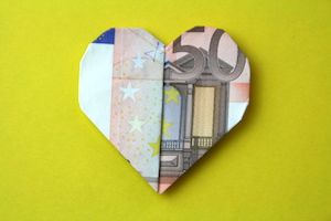 Faltanleitung Kleines Herz Als Geldgeschenk Hochzeit Geschenk
