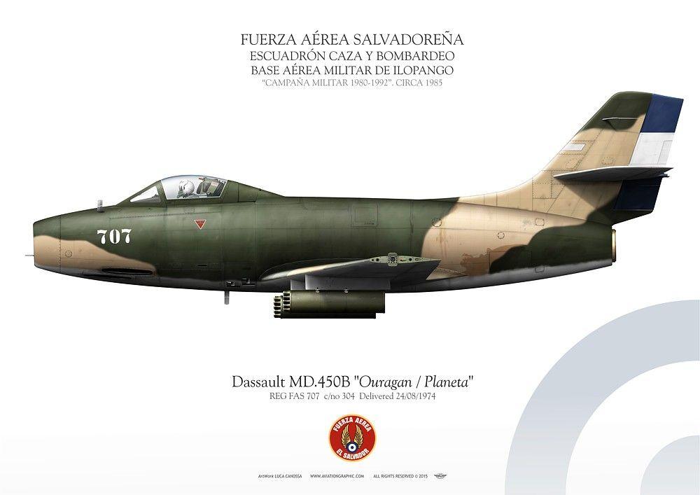 Aviones De La Guerra De El Salvador Y Honduras
