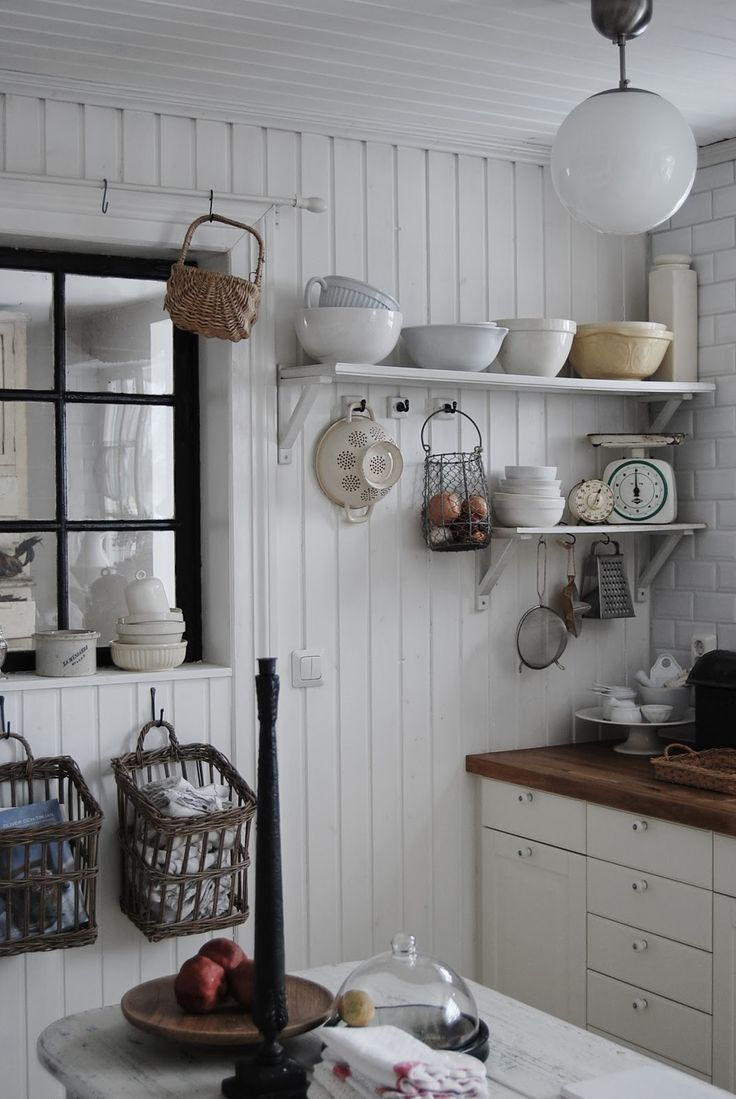 Open shelves and baskets on the wall for organization is creative inspiration for us. Get more photo about home decor related with by looking at photos gallery at the bottom of this page. We are want to say thanks if you like to share this post to another people via …