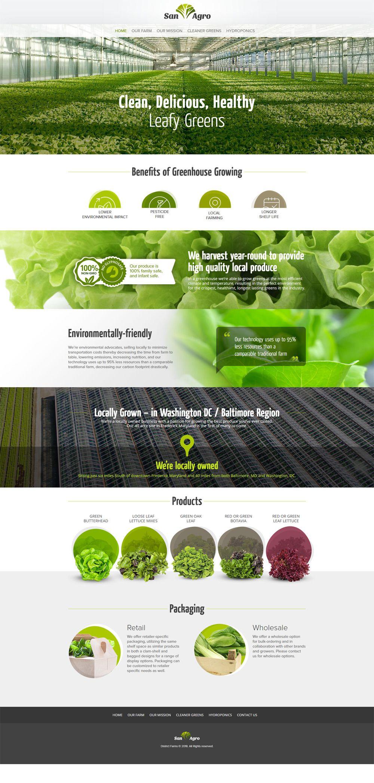 Website Design For Washington Dc Farm And Agriculture Business Lightmix Agriculture Design Agriculture Business Website Design Wordpress