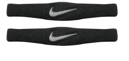 Nike Dri Fit Bands Pair (Black/White, Osfm) Nike