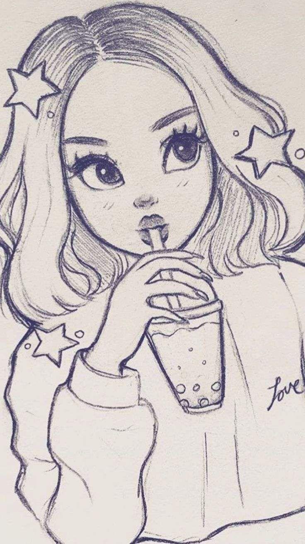 My Anime Drawing Blog Art Art Sketch My Anime Drawing Blog In 2020 Disney Art Drawings Girl Drawing Sketches Art Drawings Sketches Creative