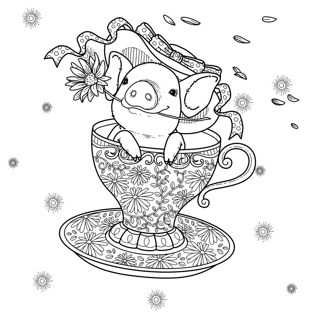 Pin by Maria Häll on C. P. - Animals  Coloring pages, Coloring