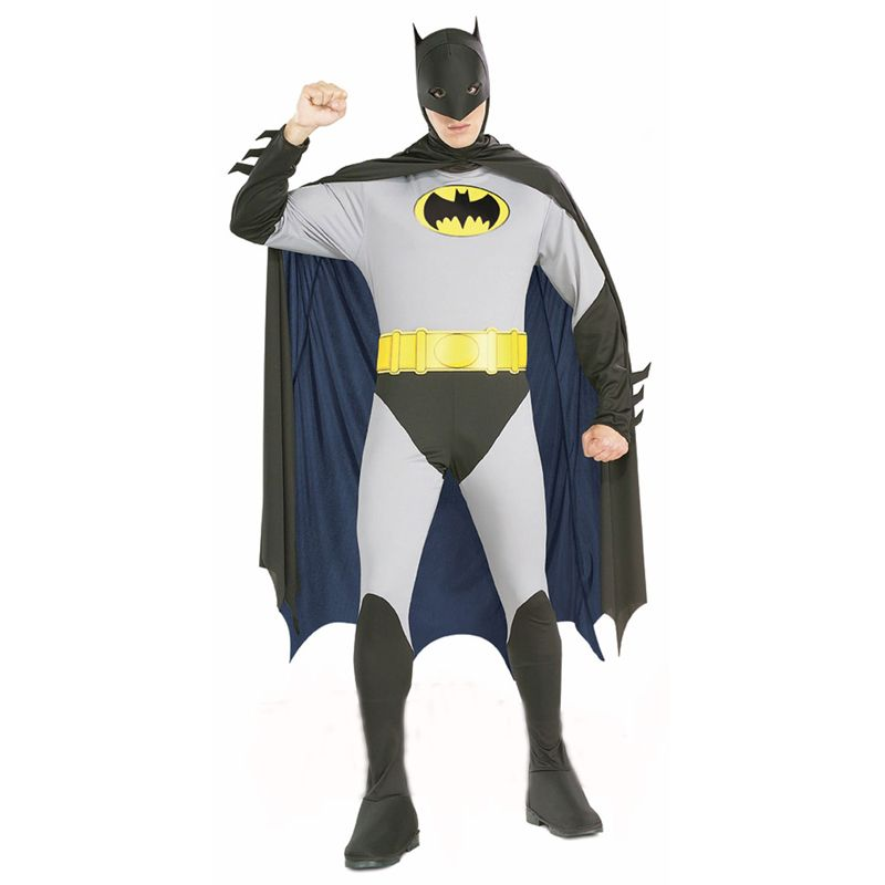 Click to Buy \u003c\u003c Hot Sale Adult Men Batman Costumes Halloween Dress - 2016 mens halloween costume ideas