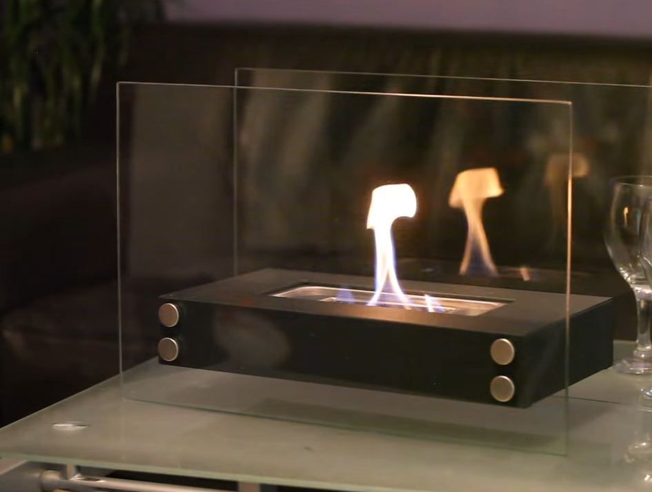 Portable fireplace indoor #fireplace #Portable portable fireplace ...