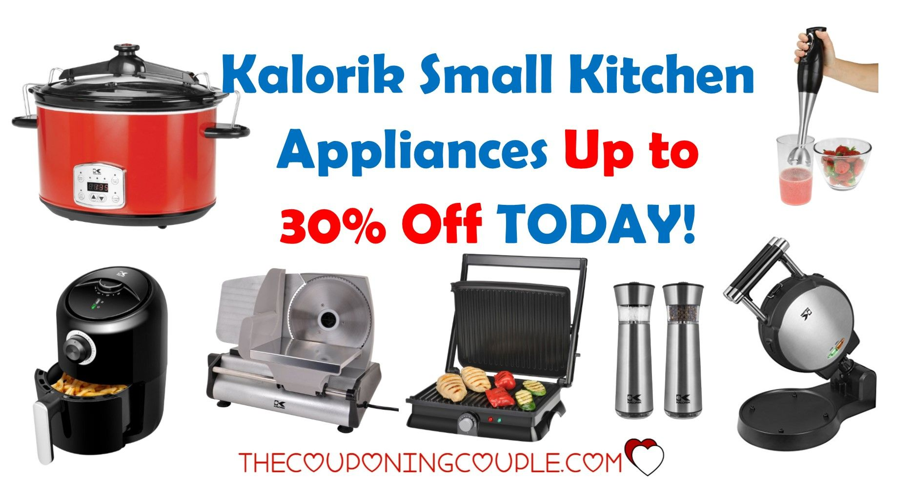 Kalorik Small Kitchen Appliances Up to 30% Off Today! | Store ads ...