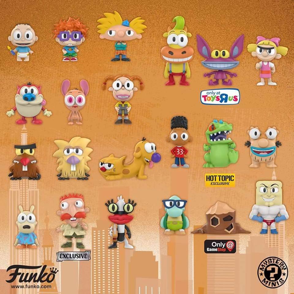 Funko Pop Mini Mystery Bags