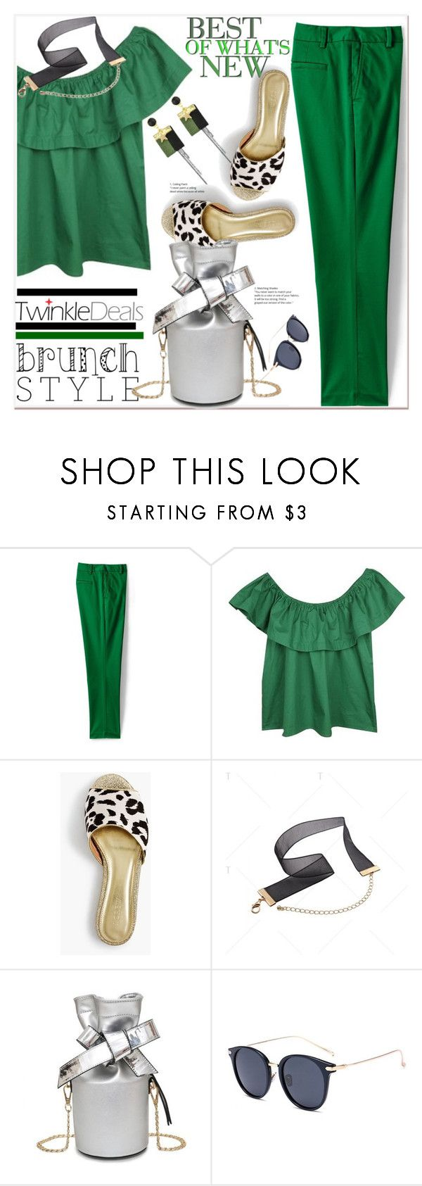 """""""Mother's Day Brunch Goals"""" by spenderellastyle ❤ liked on Polyvore featuring Lands' End, J.Crew, polyvoreeditorial, twinkledeals and brunchgoals"""