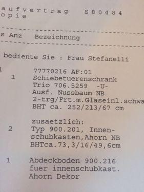 Awesome Kleiderschrank mit Schiebet ren in Bochum Bochum Ost eBay Kleinanzeigen