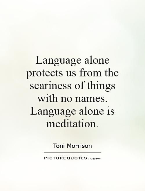 Toni Morrison Quotes Awesome Toni Morrison Quote Names Reflectionway  Meditations .
