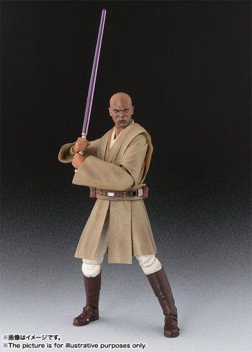 ToyzMag.com » Star Wars S.H. Figuarts : Mace Windu photos officielles
