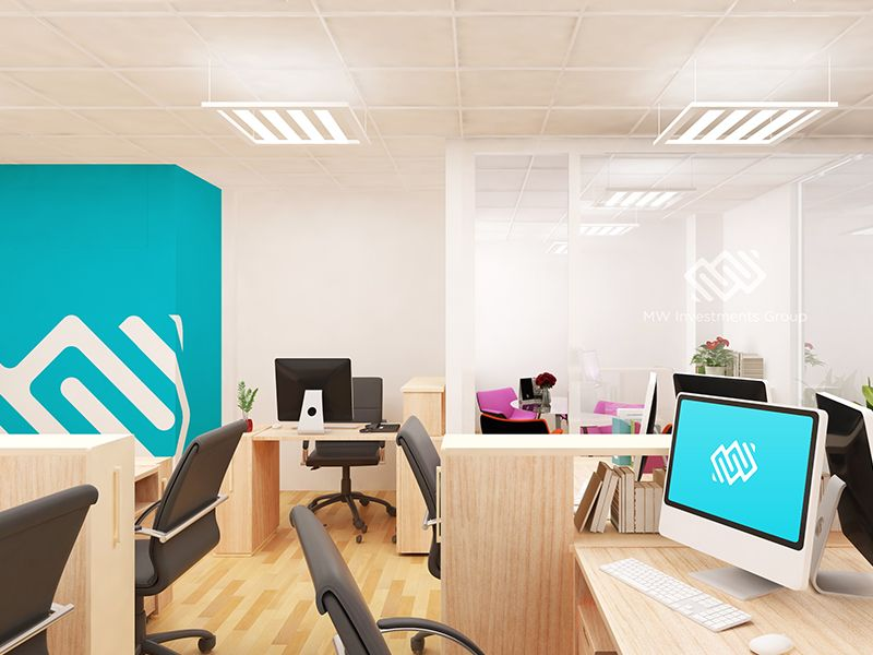 Office Mockup 2.0 | Mockup, Office spaces and Workplace