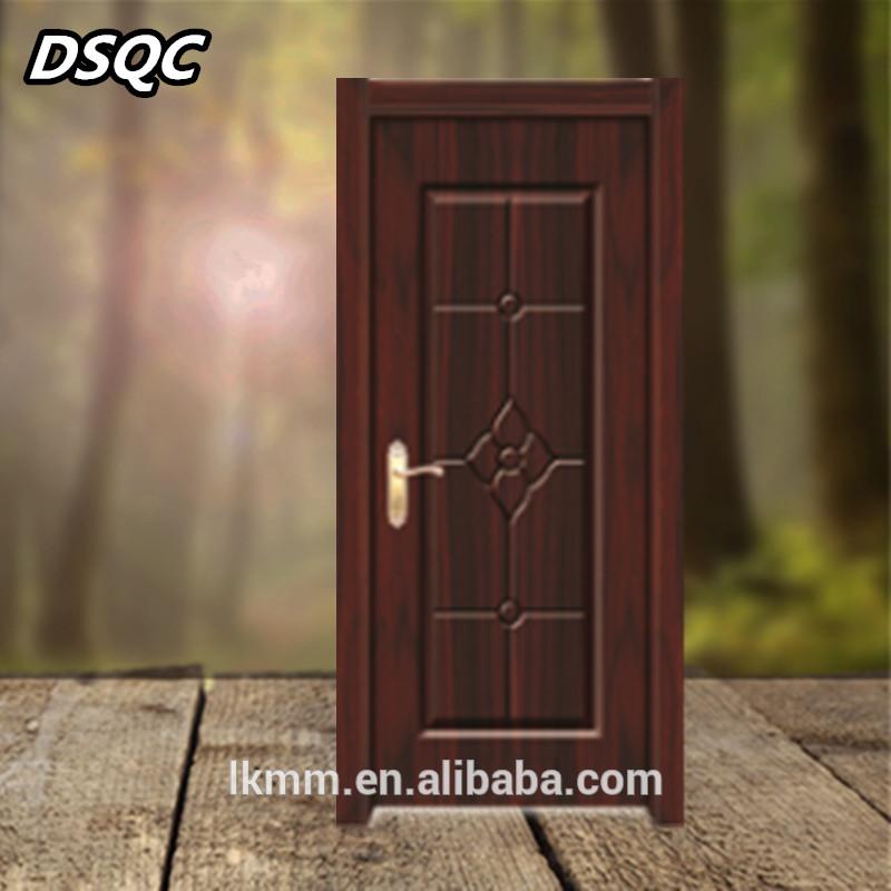 Cheap Hollow Interior Wood Bathroom Door Main Gate Design