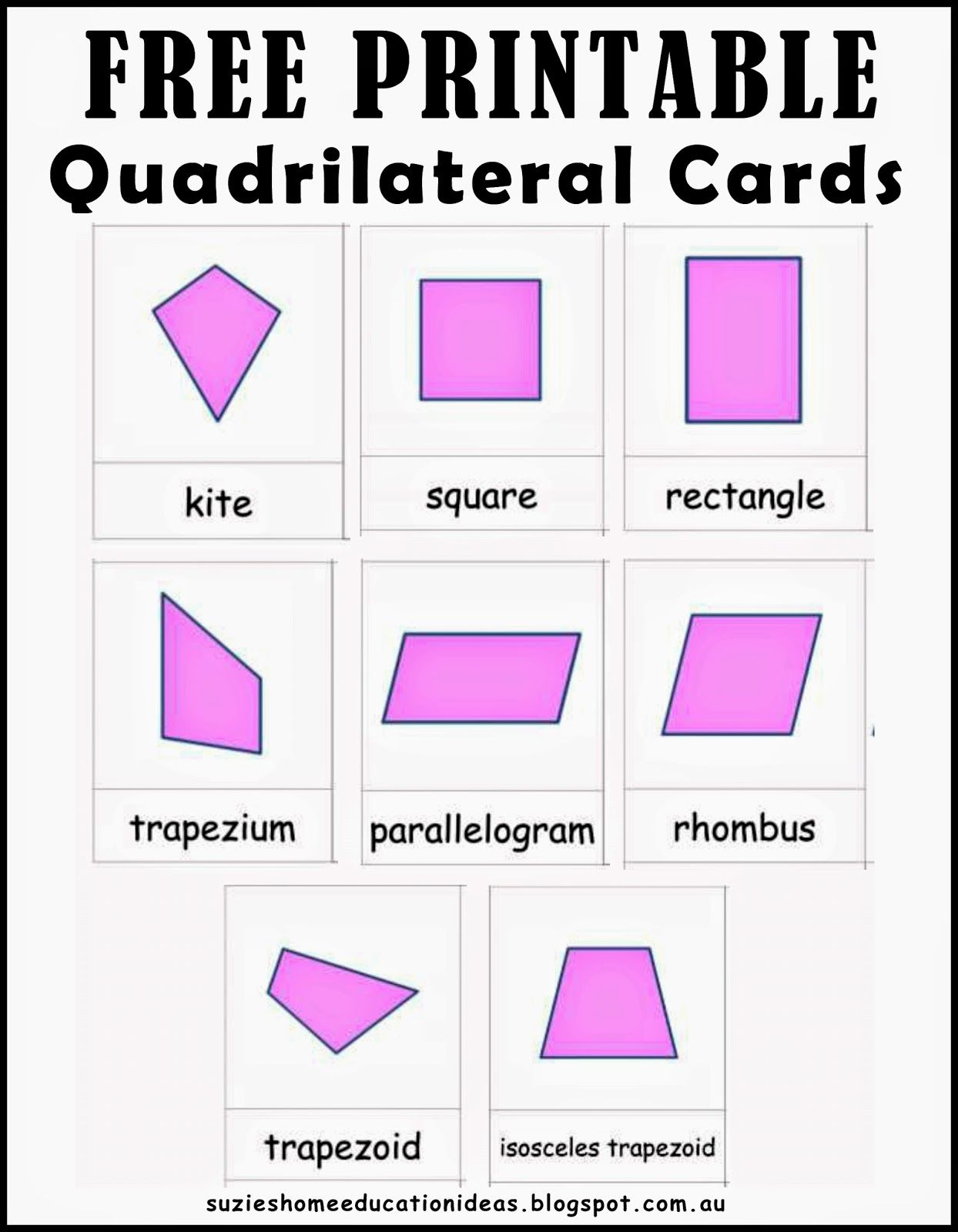 Learning About Quadrilaterals