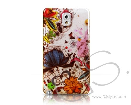 3D Raindrop Series Samsung Galaxy Note 3 Case N9000 - Butterfly