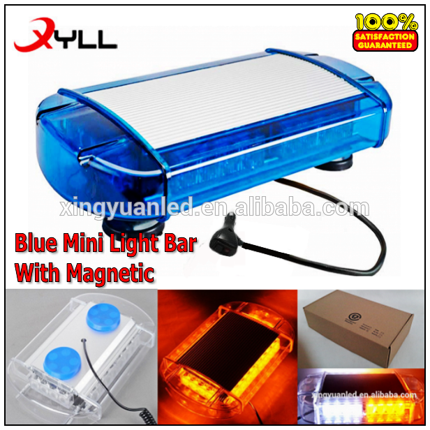 New blue 24 led mini light bar strobe led flashing lightbar used new blue 24 led mini light bar strobe led flashing lightbar used emergency warning beacon with aloadofball Images