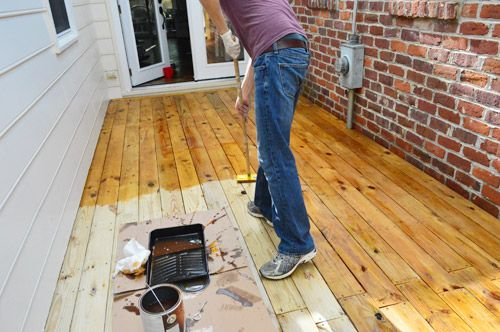 How To Clean Stain And Seal A Deck Olympic Premium Cleaner Maximum Toner Sealant In One