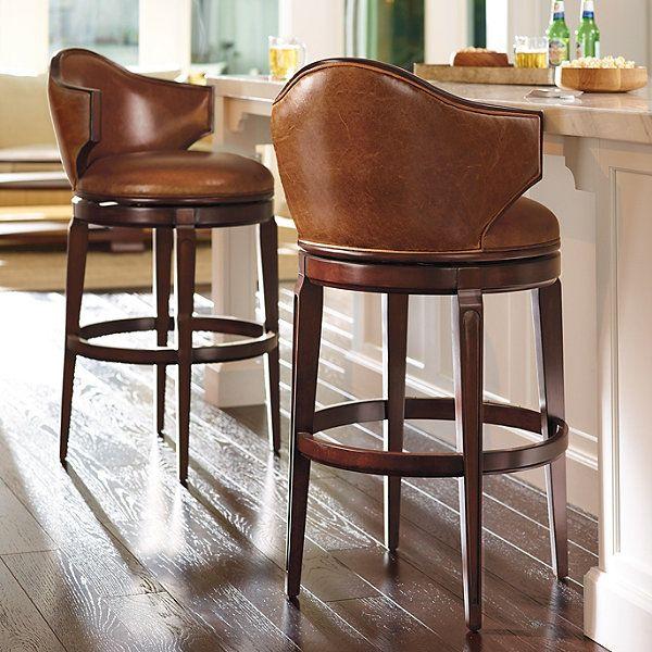nicholson low back bar stool  bar stools with backs