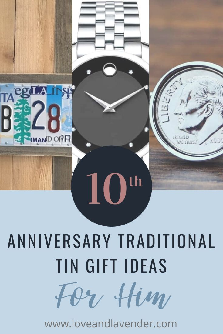 17 terrific tin anniversary gifts for her him in 2020